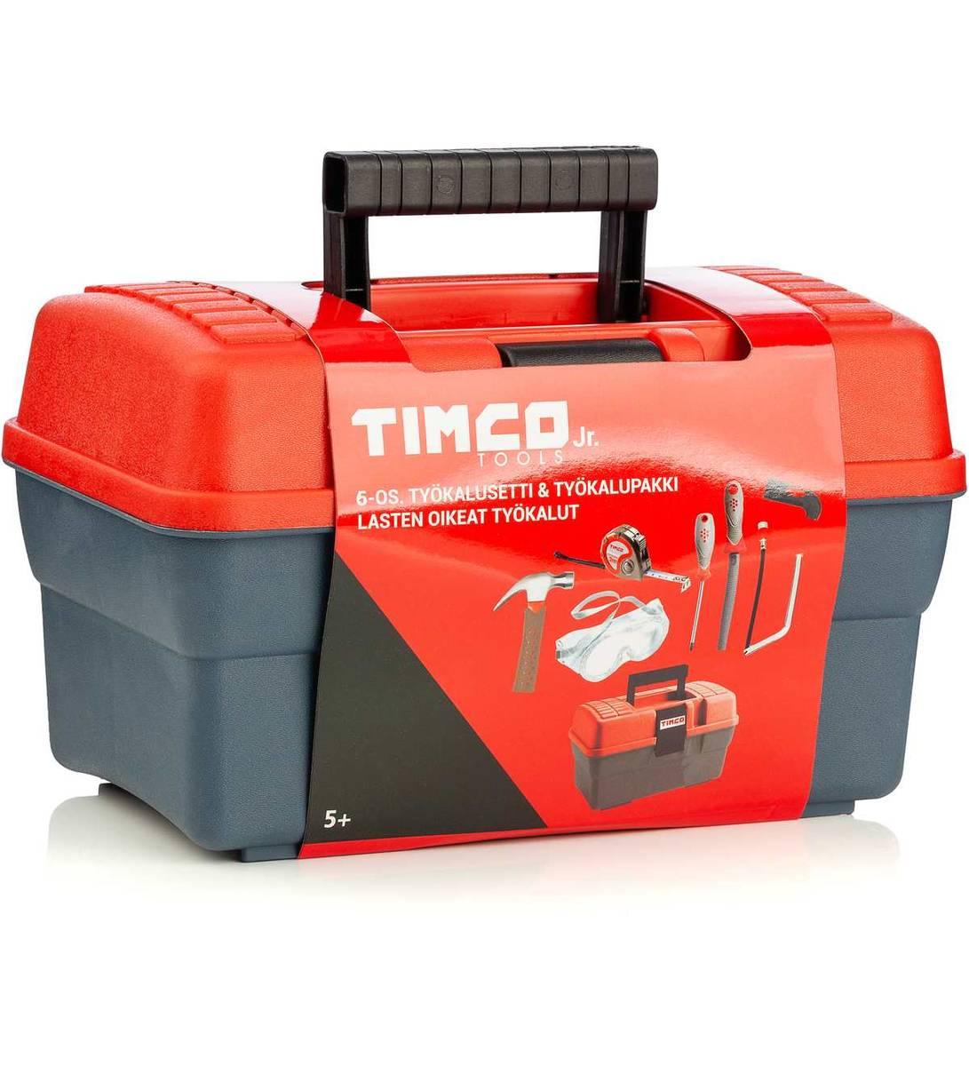 Prima Verktygslåda med verktyg för barn Timco 16 - YepOrder.se webbutik EI-67